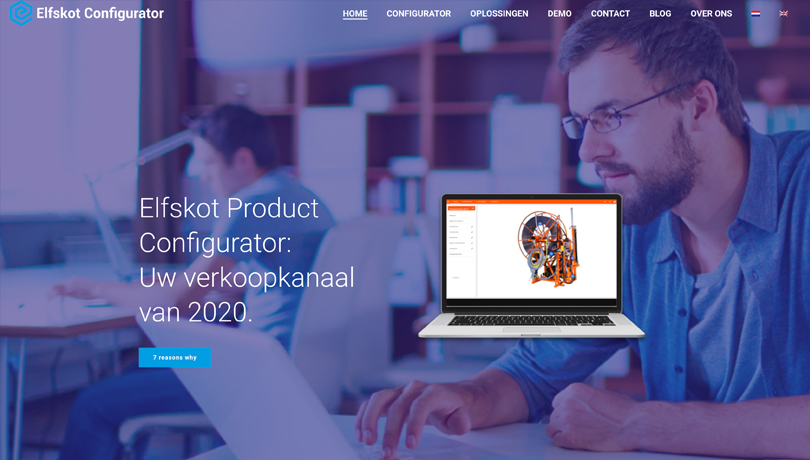 Elfskot – Restyle website